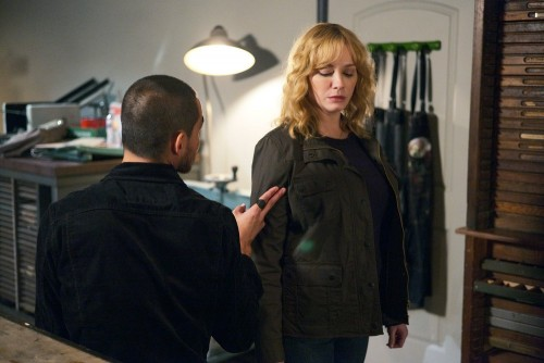 "GOOD GIRLS -- ""Au Jus"" Episode 305 -- Pictured: Christina Hendricks -- (Photo by: Jordin Althaus/NBC"
