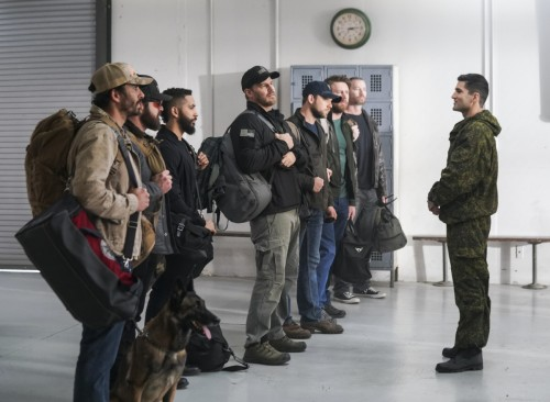 Objects in Mirror  Bravo Team travels overseas for a foreign training exercise to disguise their tru
