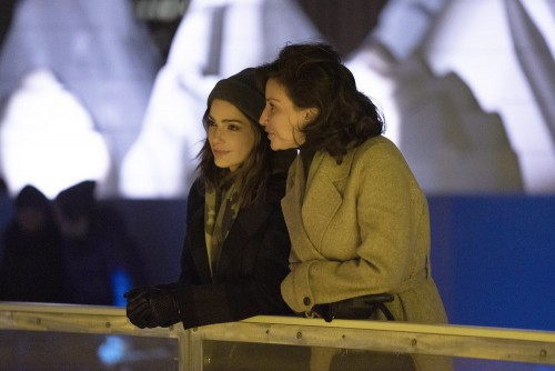 """NEW AMSTERDAM -- """"Perspectives"""" Episode 216 -- Pictured: (l-r) Janet Montgomery as Dr. Lauren Bloom,"""