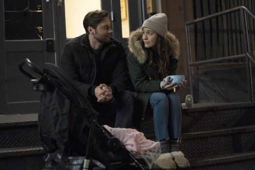 "NEW AMSTERDAM -- ""Perspectives"" Episode 216 -- Pictured: (l-r) Ryan Eggold as Dr. Max Goodwin, Aliso"
