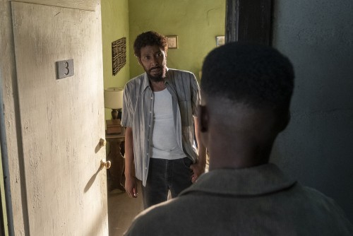 """THIS IS US -- """"After the Fire"""" Episode 417 -- Pictured: (l-r) Ron Cephas Jones as William, Niles Fit"""