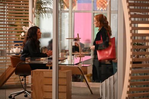 "ZOEY'S EXTRAORDINARY PLAYLIST -- ""Zoey's Extraordinary Confession"" Episode 107 -- Pictured: (l-r) La"