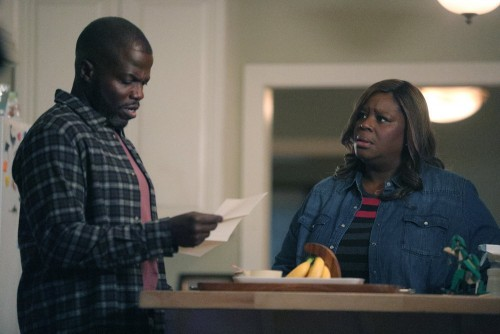"""GOOD GIRLS -- """"Fere Jacques"""" Episode 306 -- Pictured: (l-r) Reno Wilson as Stan Hill, Retta as Ruby"""