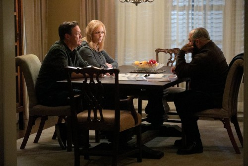 "GOOD GIRLS -- ""Fere Jacques"" Episode 306 -- Pictured: (l-r) Matthew Lillard as Dean Boland, Christin"