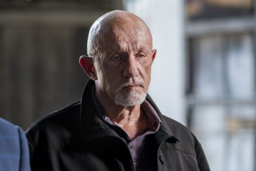 Jonathan Banks as Mike Ehrmantraut - Better Call Saul _ Season 5, Episode 6 - Photo Credit: Greg Lew