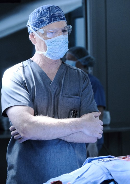 "THE RESIDENT:  Bruce Greenwood in the ""Burn it All Down"" season finale episode of THE RESIDENT airin"