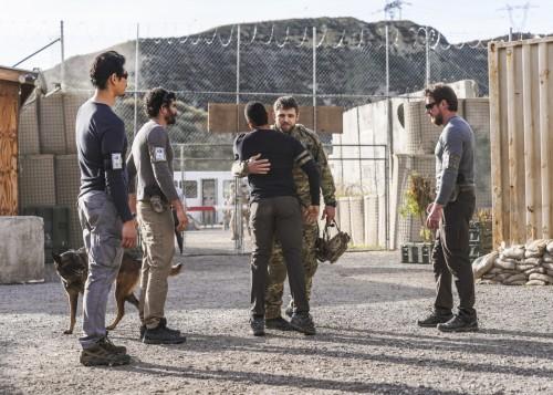 """Drawdown"" -- As Bravo Team begins their deployment in Afghanistan during peace negotiations, Sonny"