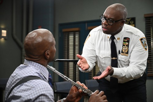 """BROOKLYN NINE-NINE -- """"Admiral Peralta"""" Episode 710 -- Pictured: Andre Braugher as Ray Holt -- (Phot"""