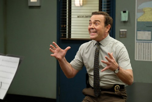 "BROOKLYN NINE-NINE -- ""Admiral Peralta"" Episode 710 -- Pictured: Joe Lo Truglio as Charles Boyle --"