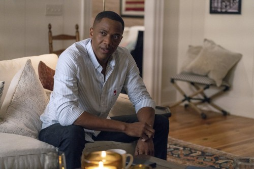 "COUNCIL OF DADS -- ""I'm Not Fine"" Episode 102 -- Pictured: J. August Richards as Dr. Oliver Post --"