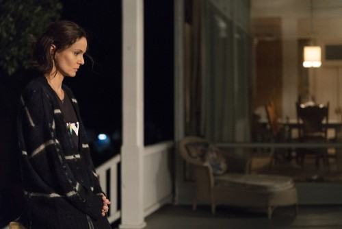 "COUNCIL OF DADS -- ""I'm Not Fine"" Episode 102 -- Pictured: Sarah Wayne Callies as Robin Perry -- (Ph"