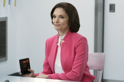 BLINDSPOT -- Pictured: Mary Elizabeth Mastrantonio as Madeline Burke -- (Photo by: Barbara Nitke/NBC