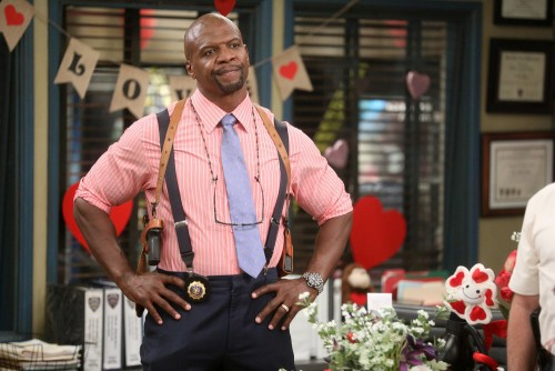 "BROOKLYN NINE-NINE -- ""Valloweaster"" Episode 711 -- Pictured: Terry Crews as Terry Jeffords -- (Phot"