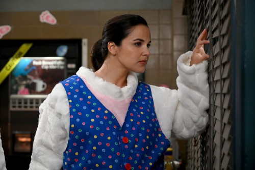 "BROOKLYN NINE-NINE -- ""Valloweaster"" Episode 711 -- Pictured: Melissa Fumero as Amy Santiago -- (Pho"