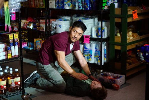 """CHICAGO MED -- """"A Needle In The Heart"""" Episode 520 -- Pictured: Brian Tee as Ethan Choi -- (Photo by"""
