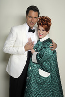 """WILL & GRACE -- """"We Love Lucy"""" Episode 316 -- Pictured: (l-r) Eric McCormack as Will Truman/Ricky, M"""