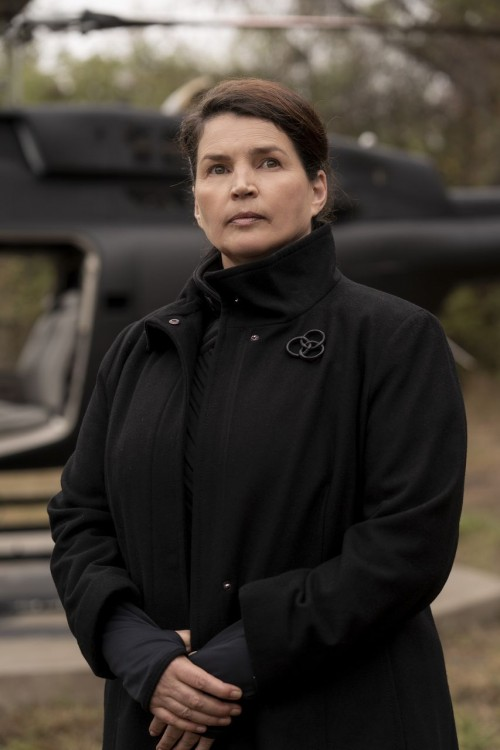 Julia Ormond as Elizabeth - The Walking Dead: World Beyond _ Season 1 - Photo Credit: Zach Dilgard/A