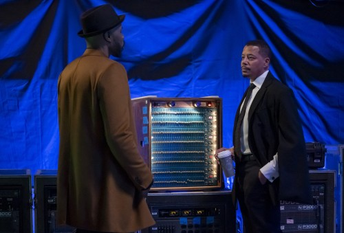 "EMPIRE: L-R: Wood Harris and Terrence Howard in the ""Home is on the Way"" episode of EMPIRE airing Tu"