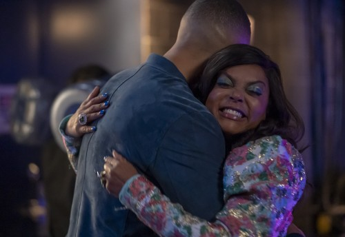 "EMPIRE: L-R: Trai Byers and Taraji P. Henson in the ""Home is on the Way"" episode of EMPIRE airing Tu"