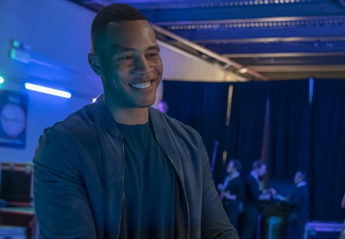 "EMPIRE: Trai Byers in the ""Home is on the Way"" episode of EMPIRE airing Tuesday, April 21 (9:00-10:0"