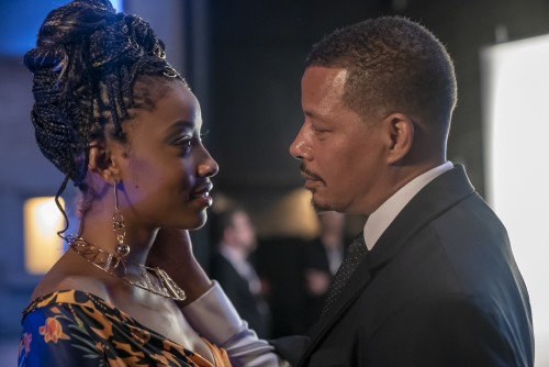 """EMPIRE: L-R: Guest star Kiandra Richardson and Terrence Howard in the """"Home is on the Way"""" episode o"""