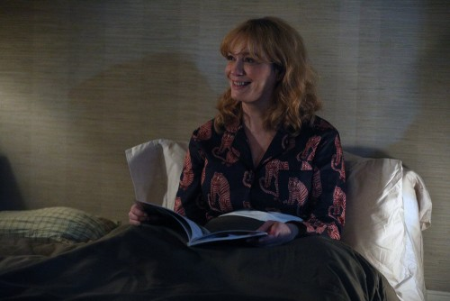 "GOOD GIRLS -- ""Incentive"" Episode 309 -- Pictured: Christina Hendricks as Beth Boland -- (Photo by:"