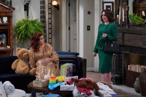 "WILL & GRACE -- ""New Crib"" Episode 317 -- Pictured: (l-r) Debra Messing as Grace Adler, Megan Mullal"