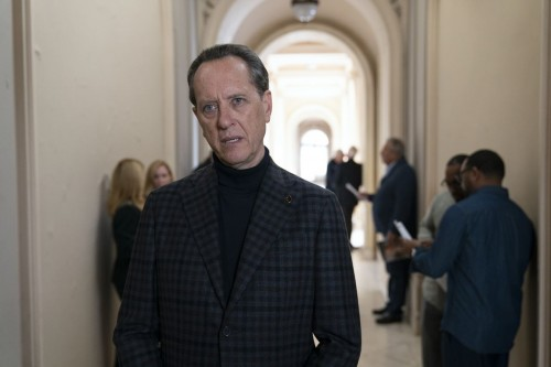 Richard E. Grant as Octavio Coleman - Dispatches from Elsewhere _ Season 1, Episode 8 - Photo Credit