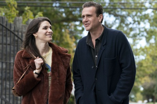 Eve Lindley as Simone, Jason Segel as Peter - Dispatches from Elsewhere _ Season 1, Episode 8 - Phot