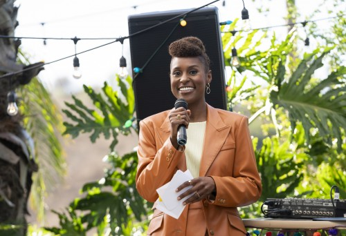 Issa Rae. photo. Merie W. Wallace use for press release
