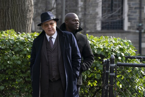 """THE BLACKLIST -- """"Nyle Hatcher (#149)"""" Episode 716 -- Pictured: (l-r) -- (Photo by: Virginia Sherwoo"""