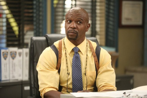 """BROOKLYN NINE-NINE -- """"Ransom"""" Episode 712 -- Pictured: Terry Crews as Terry Jeffords -- (Photo by:"""