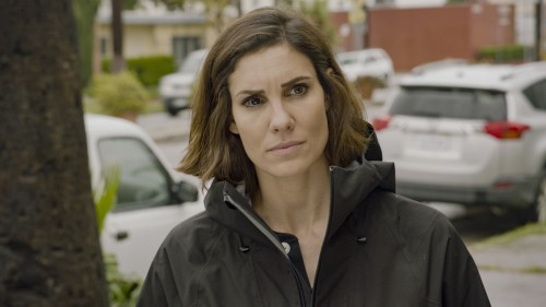 """Murder of Crows"" - Pictured: Daniela Ruah (Special Agent Kensi Blye). NCIS helps a former NCIS tech"