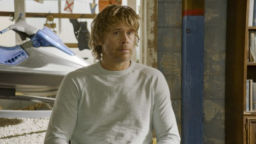 """Murder of Crows"" - Pictured: Eric Christian Olsen (LAPD Liaison Marty Deeks). NCIS helps a former N"