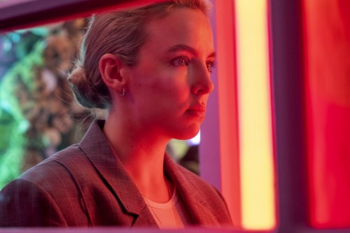 Jodie Comer as Villanelle- Killing Eve _ Season 3, Episode 3 - Photo Credit: Ludovic Robert/BBCAmeri