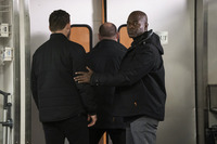 """THE BLACKLIST -- """"Roy Cain (#150)"""" Episode 717 -- Pictured: (l-r) -- (Photo by: Virginia Sherwood/NB"""