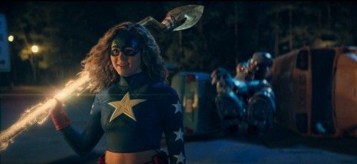 "Stargirl -- ""Pilot"" -- Image Number: STG102_0001r.jpg -- Pictured: Brec Bassinger as Courtney/Stargi"