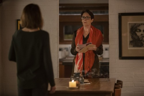 Fiona Shaw as Carolyn Martens, Gemma Whelan as Geraldine - Killing Eve _ Season 3, Episode 7 - Photo
