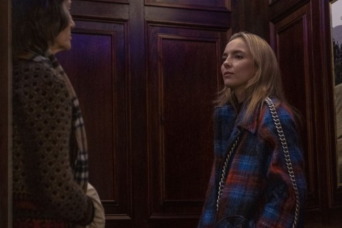 Jodie Comer as Villanelle, Harriet Walter as Dasha- Killing Eve _ Season 3, Episode 7 - Photo Credit
