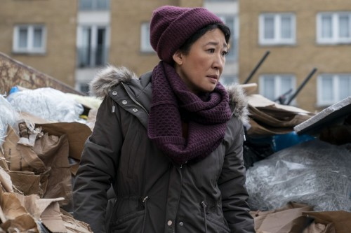 Sandra Oh as Eve Polastri - Killing Eve _ Season 3, Episode 7 - Photo Credit: Laura Radford/BBCAmeri