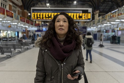 Sandra Oh as Eve Polastri - Killing Eve _ Season 3, Episode 7 - Photo Credit: Laura Radford/BBCAmeri
