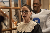 """COUNCIL OF DADS -- """"Tradition"""" Episode 105 -- Pictured: (l-r) Sarah Wayne Callies as Robin Perry, J."""