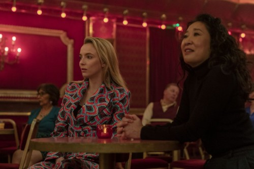 Jodie Comer as Villanelle, Sandra Oh as Eve Polastri - Killing Eve _ Season 3, Episode 8 - Photo Cre