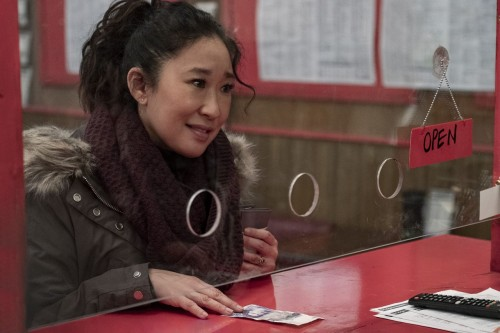Sandra Oh as Eve Polastri - Killing Eve _ Season 3, Episode 8 - Photo Credit: Laura Radford/BBCAmeri