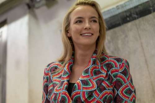 Jodie Comer as Villanelle - Killing Eve _ Season 3, Episode 8 - Photo Credit: Laura Radford/BBCAmeri