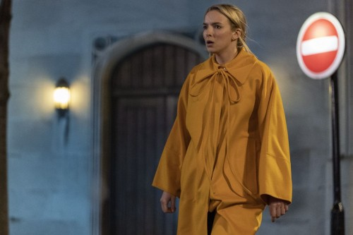 Jodie Comer as Villanelle - Killing Eve _ Season 3, Episode 7 - Photo Credit: Laura Radford/BBCAmeri