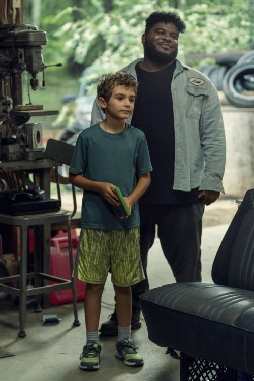 Jason David as Wayne McQueen, Jonathan Langdon as Lou Carmody - NOS4A2 _ Season 2 - Photo Credit: Za