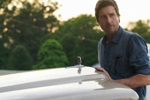 "Stargirl -- ""Wildcat"" -- Image Number: STG104b_0048b.jpg -- Pictured: Luke Wilson as Pat Dugan -- Ph"