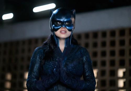 "Stargirl -- ""Wildcat"" -- Image Number: STG104b_0008b.jpg -- Pictured: Yolanda Montez as Wildcat -- P"