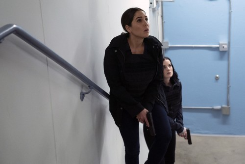 """BLINDSPOT -- """"Love You to Bits and Bytes"""" Episode 510 -- Pictured: (l-r) Audrey Esparza as Tasha Zap"""